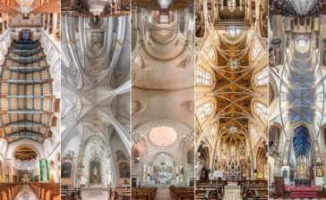 """""""Vertical Churches"""": an ethereal architecture photography series by Richard Silver"""